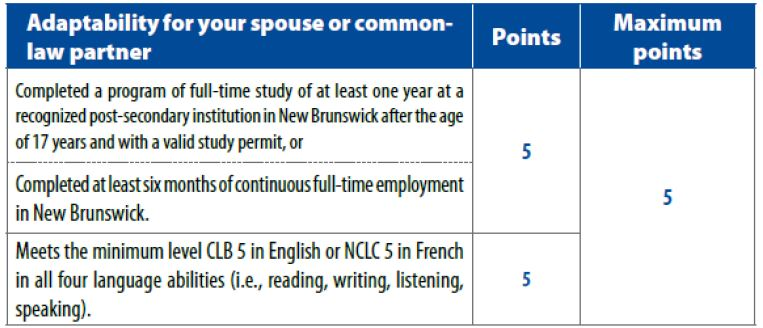 Dòng doanh nhân New Brunswick - New Brunswick Entrepreneurial Stream NBPNP 6