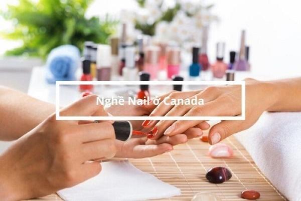 nghề nail ở canada