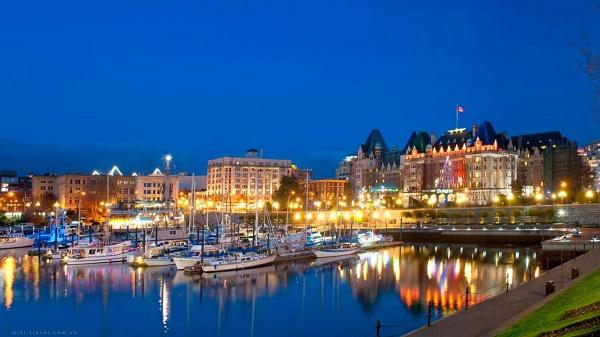 thành phố Victoria Canada