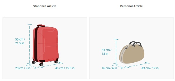 quy định hành lý đi canada