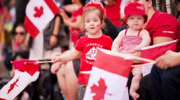 Sinh con ở Canada có được nhập quốc tịch